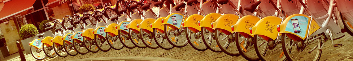 Bikes in Belgium Slider