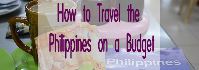 travel the Philippines on a budget