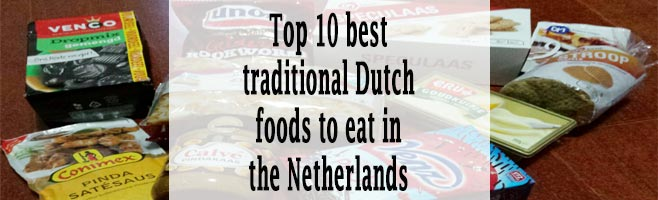 traditional Dutch foods