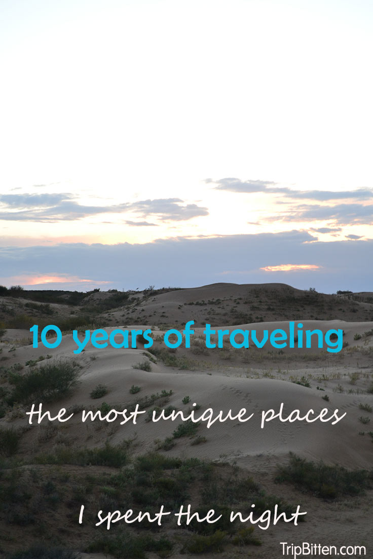 10 years of traveling