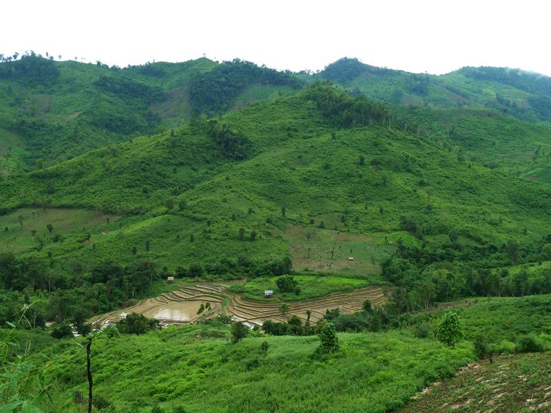 trekking in Luang prabang