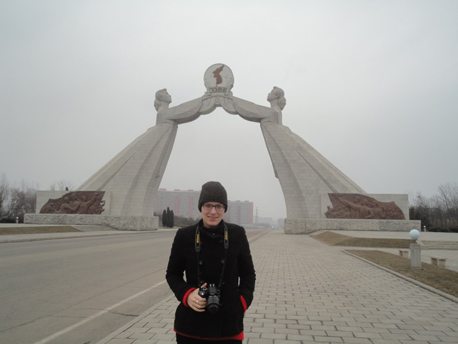 Arch of Reunification Statue North Korea